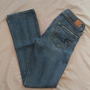 American Eagle kick boot stretch 👖 sz 0